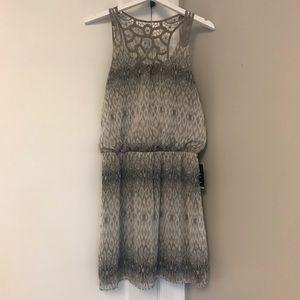 NWT Express Racerback Dress - gray - sz Large
